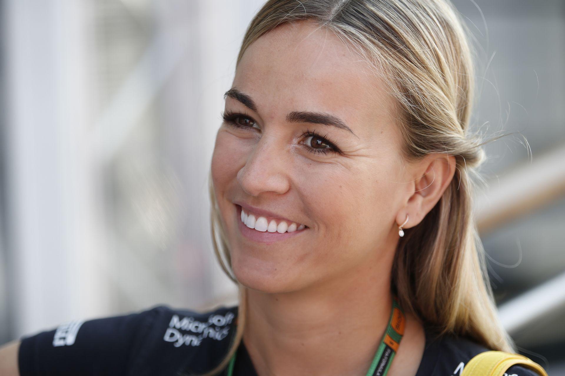 Carmen Jorda idén szinte biztosan nem tesztelhet F1-es autóval