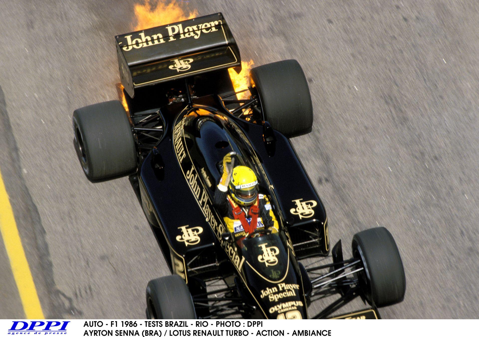 Ayrton Senna és Nigel Mansell csatája az 1986-os Amerikai Nagydíjról