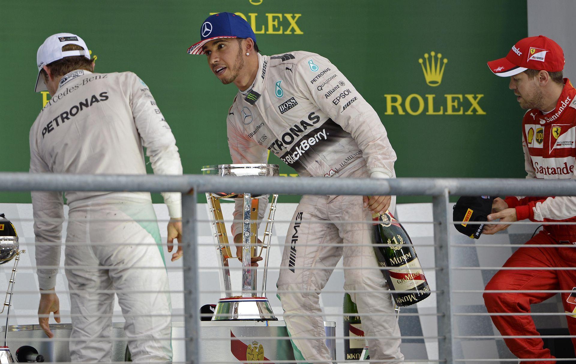 """Rosberg: """"Austinban nem Hamilton nyert, hanem én vesztettem…"""""""