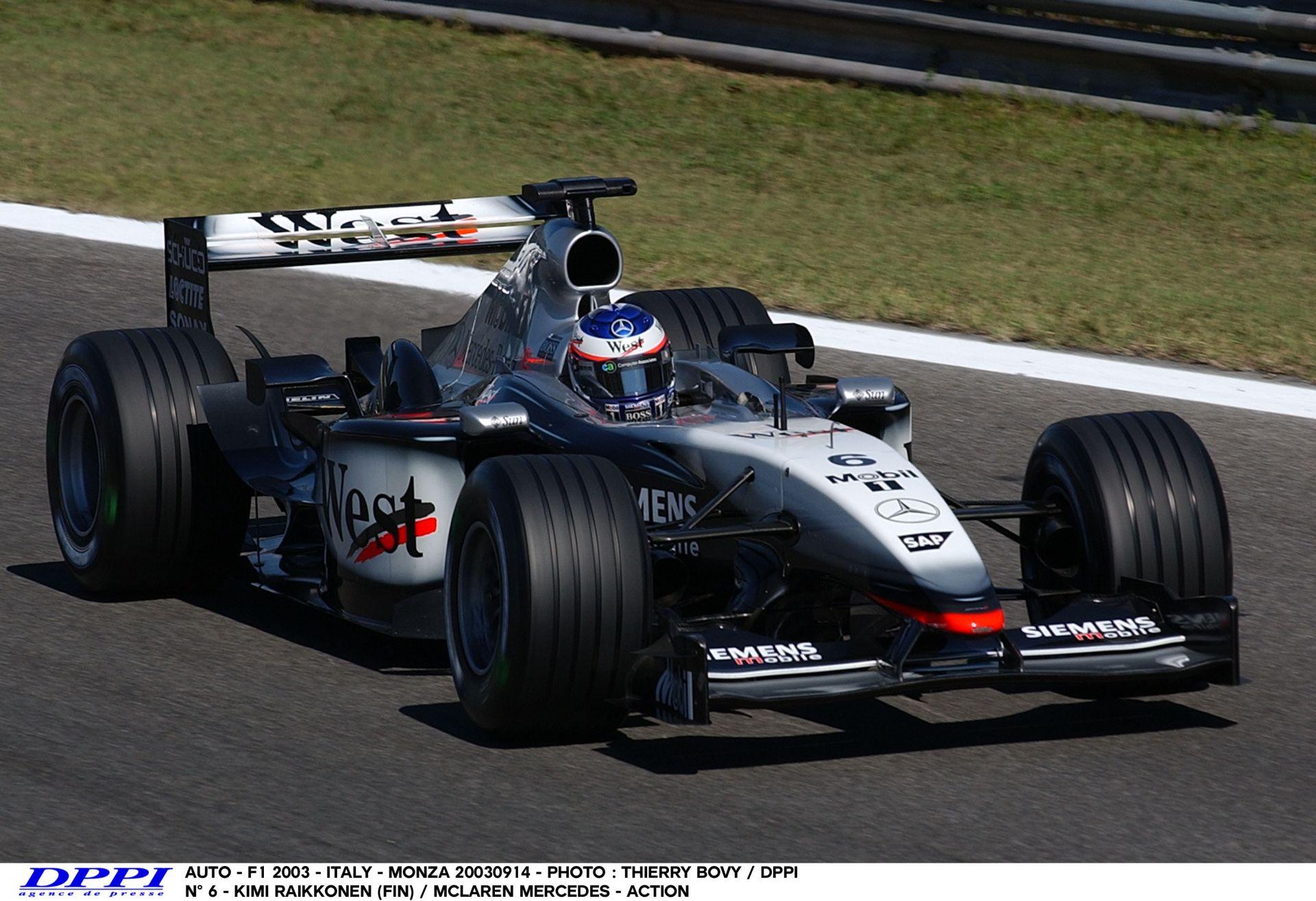 Tekerd fel a hangerőt, mert ez nem piskóta: Raikkönen a V10-es McLarennel Monzában