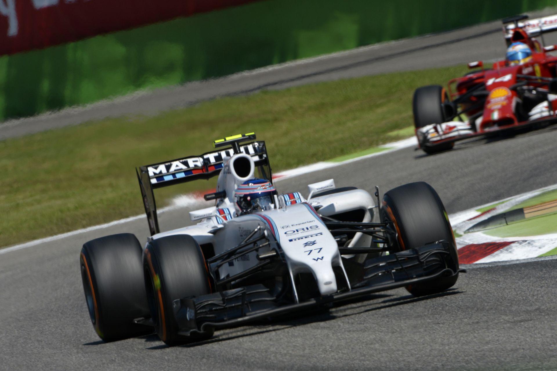 A Williamst lenyűgözi Monza és Olaszország - meg persze a szenvedélyes szurkolók!