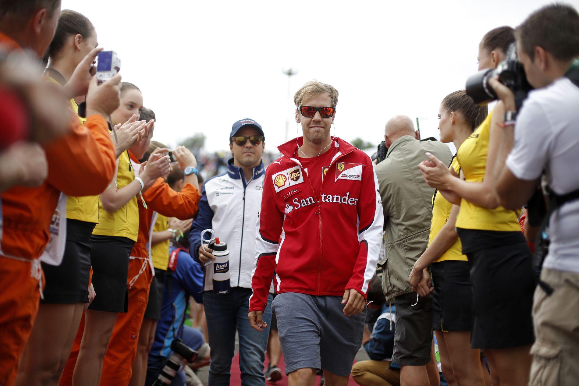 Vettel továbbra is tabuként kezeli a magánéletét