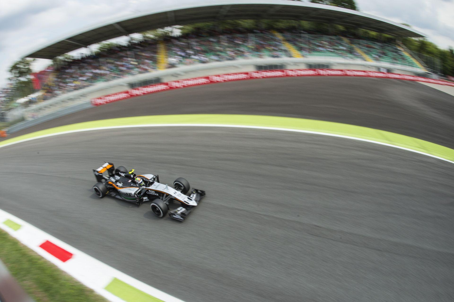 A Force India Monzában is nagyon ott van: 7. és 9. rajthely!