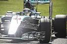 Videón Hamilton rajtelsőségét érő köre Monzából a Mercedesszel