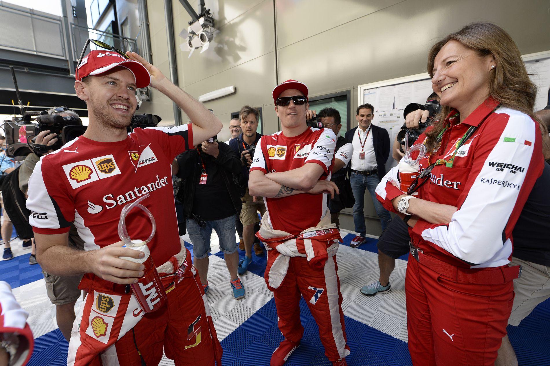 Raikkonen az első naptól fogva tisztelte Vettelt, míg egyesek kicsit elszálltak az F1-ben