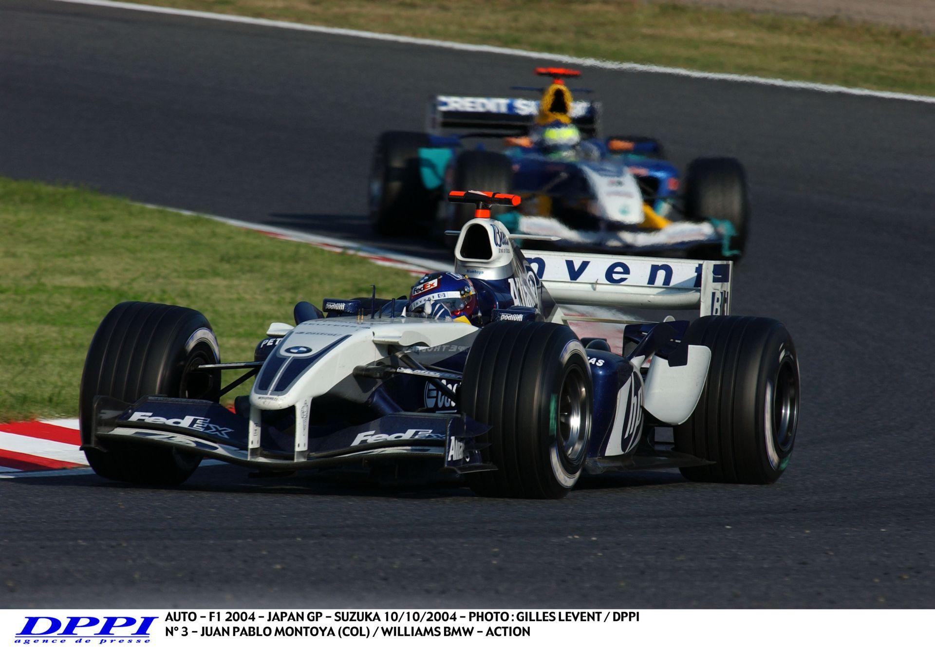 Montoya és az elképesztő motorhang – 2004! Japán Nagydíj