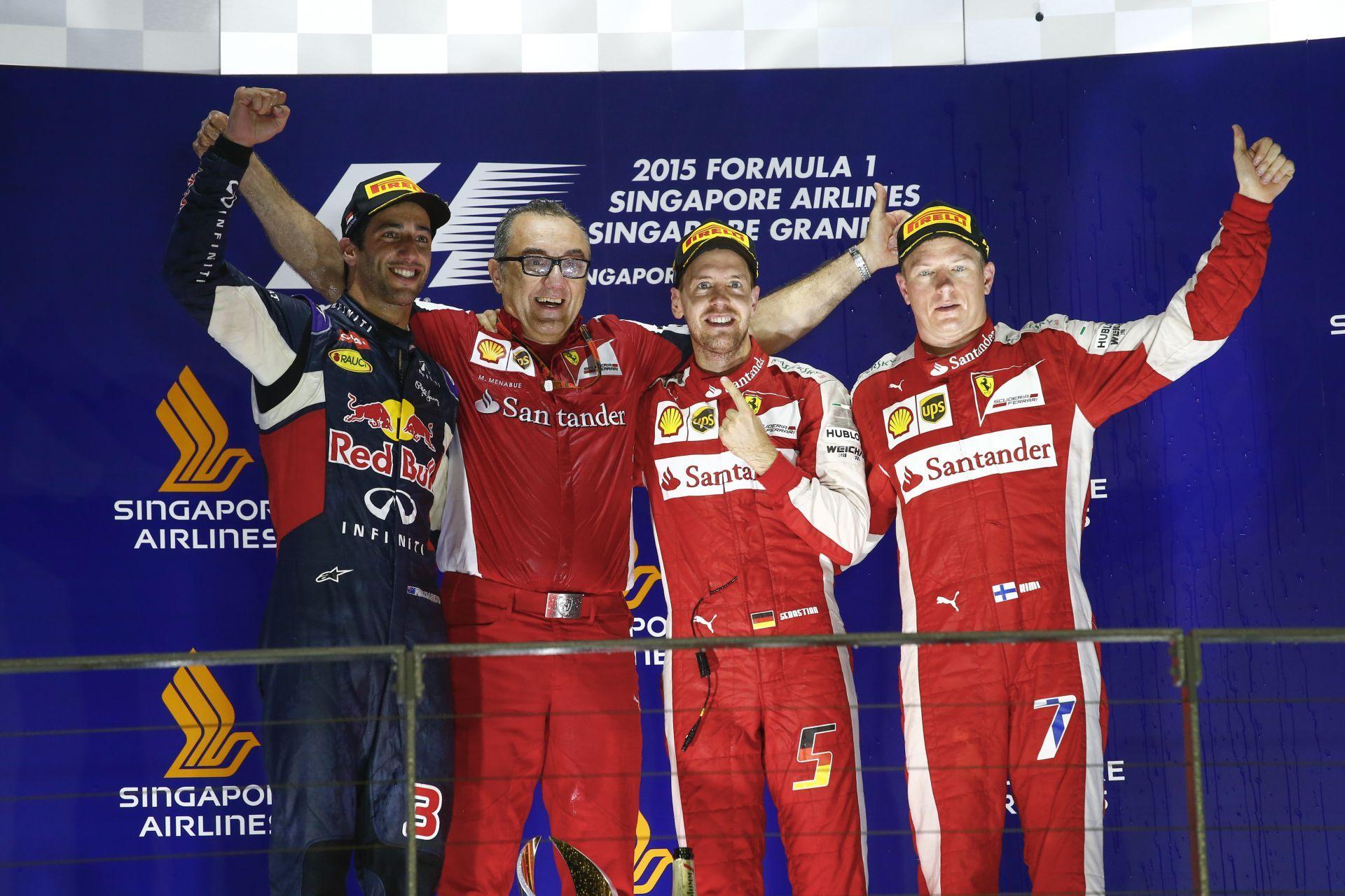 Vettel jobb, mint Raikkönen? A Ferrarit ez nem érdekli!