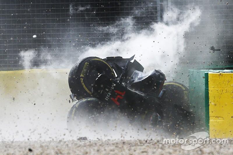Fernando Alonsos Unfall in Australien: Aufprall mit 46 g