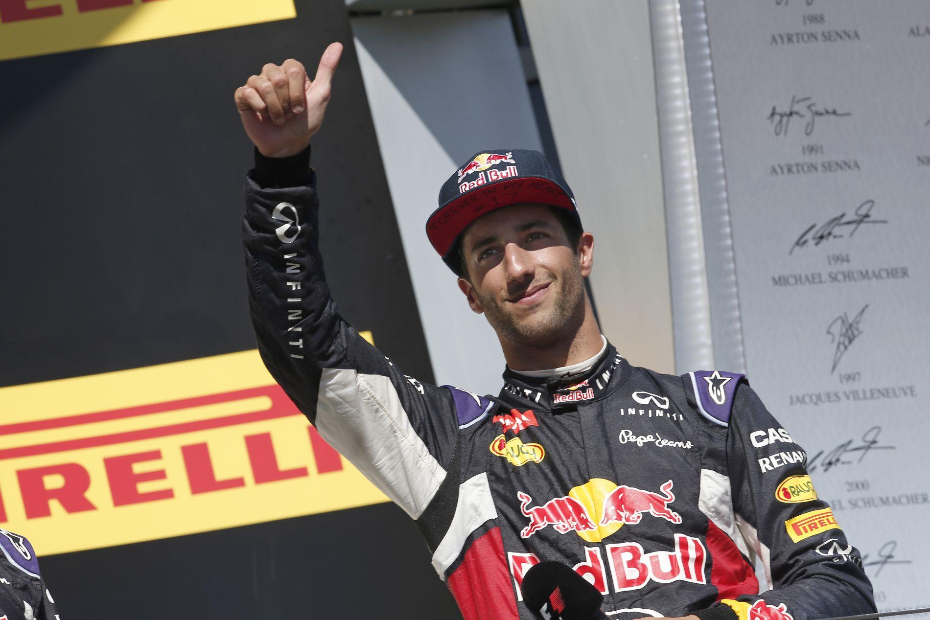 Ricciardo ugyan többet keres idén, de ez nem elég: sikerre éhes a Red Bull versenyzője