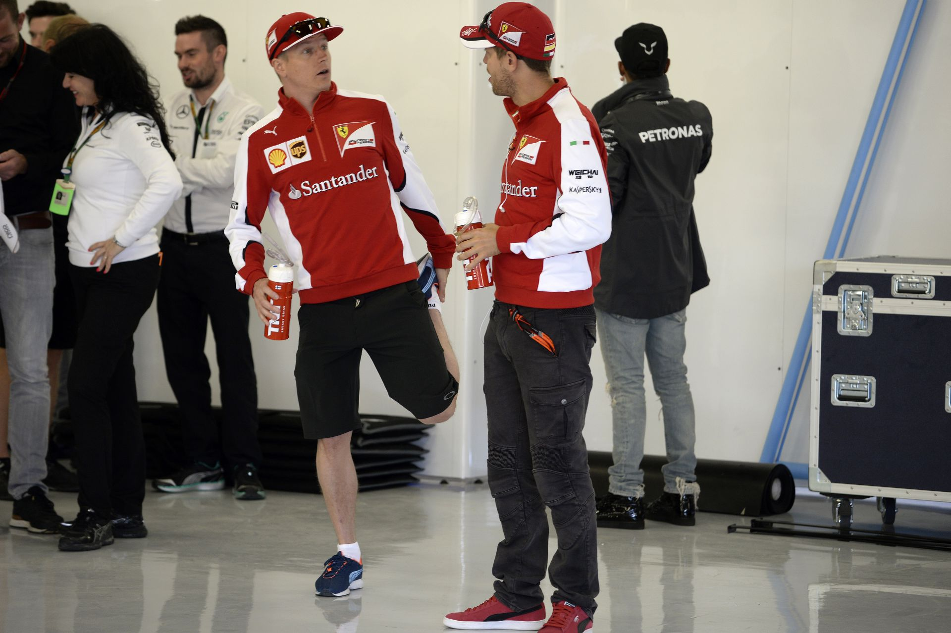 Vettel szerint kulcskérdés lehet Raikkönen maradása a Ferrarinál