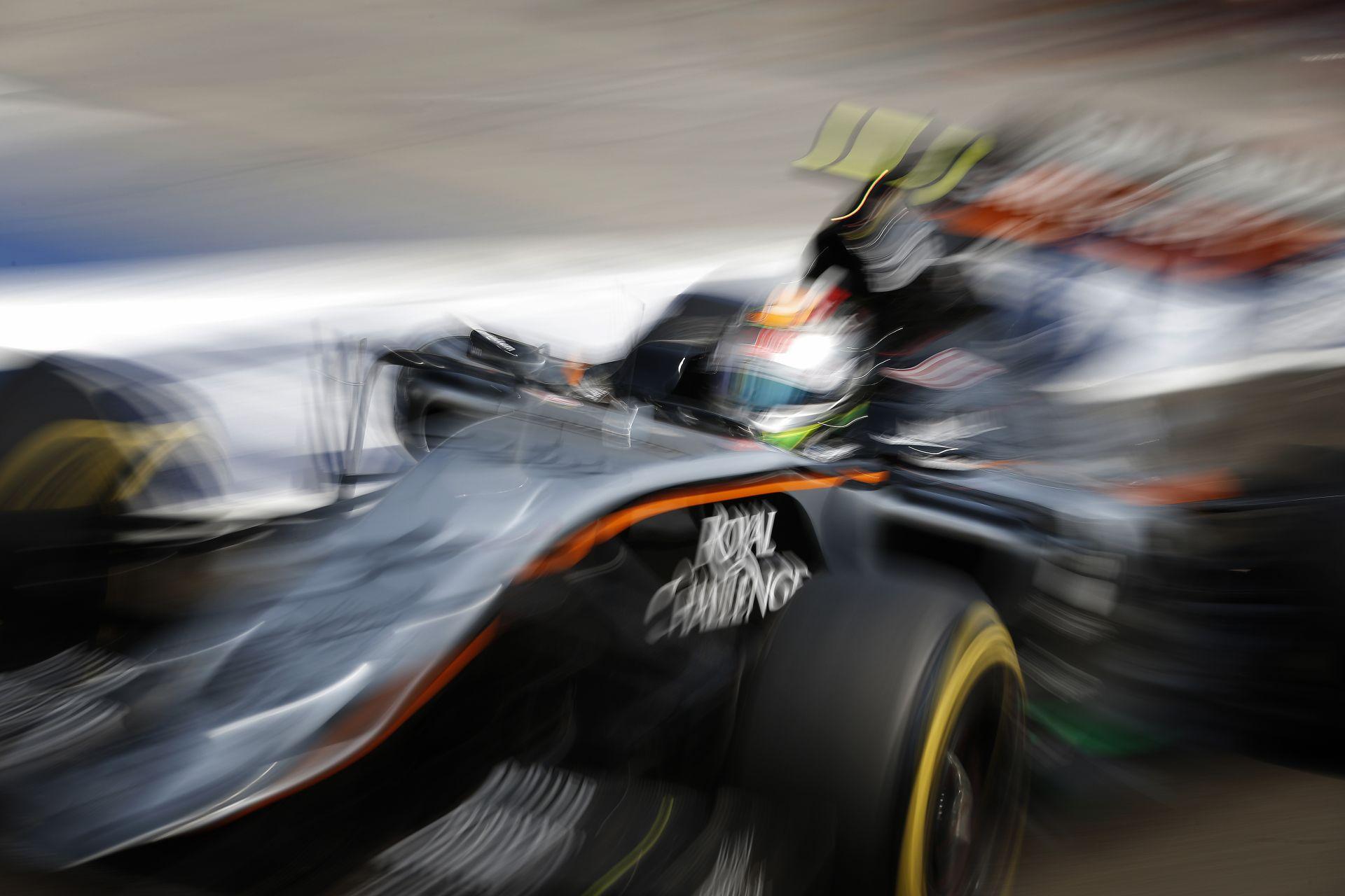 A Force India valódi sebességére csak Szingapúrban derül fény!