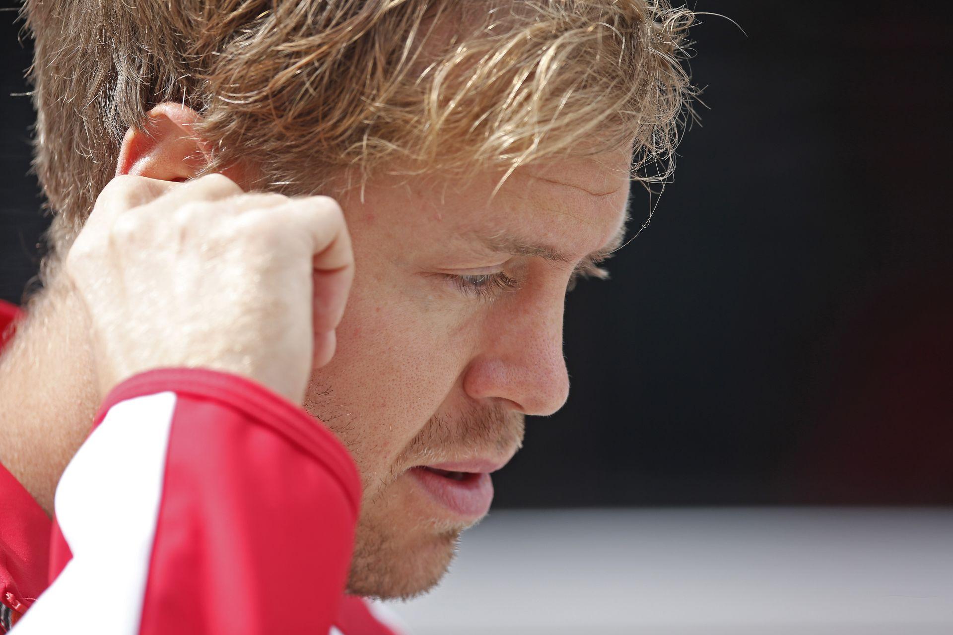 Vettel is aggódik Rosberg balesete miatt, de a Ferrarinál minden rendben