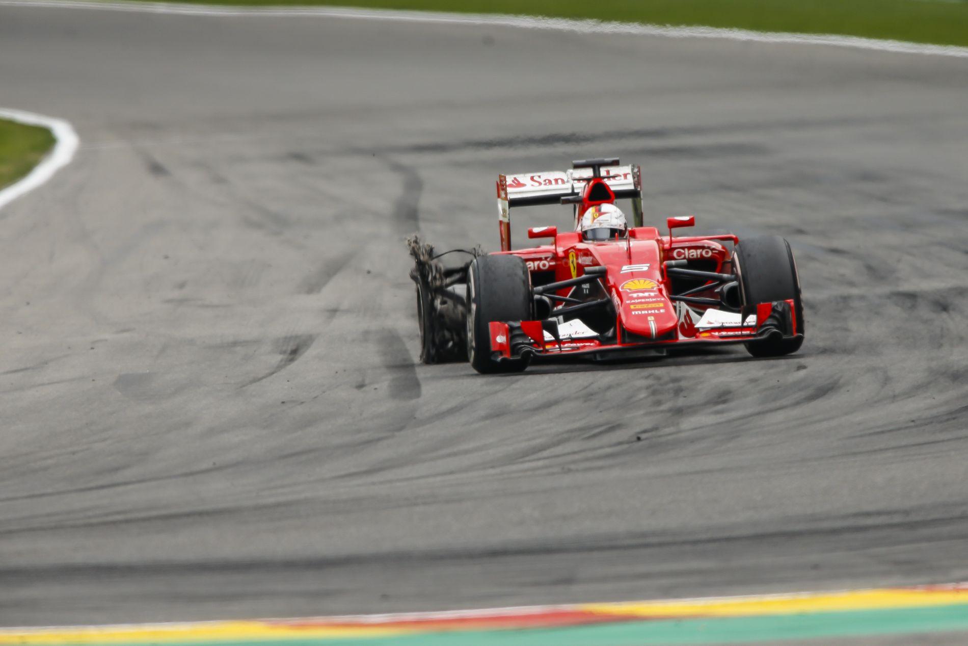 A Mercedes is aggódott a törmelékek miatt Spában: mégis baj van a gumik szerkezetével?