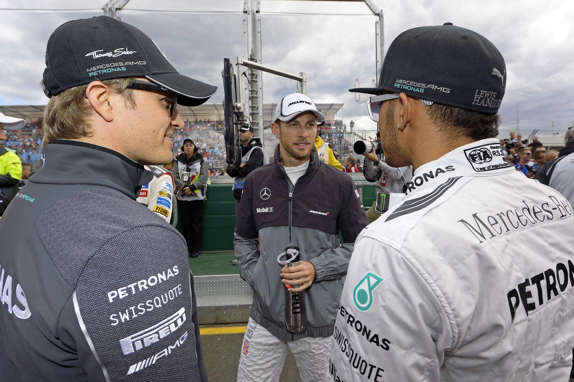 Rosberg egy tipikus másodszámú, mint Button? Jenson legalább valahogy bajnok lett!