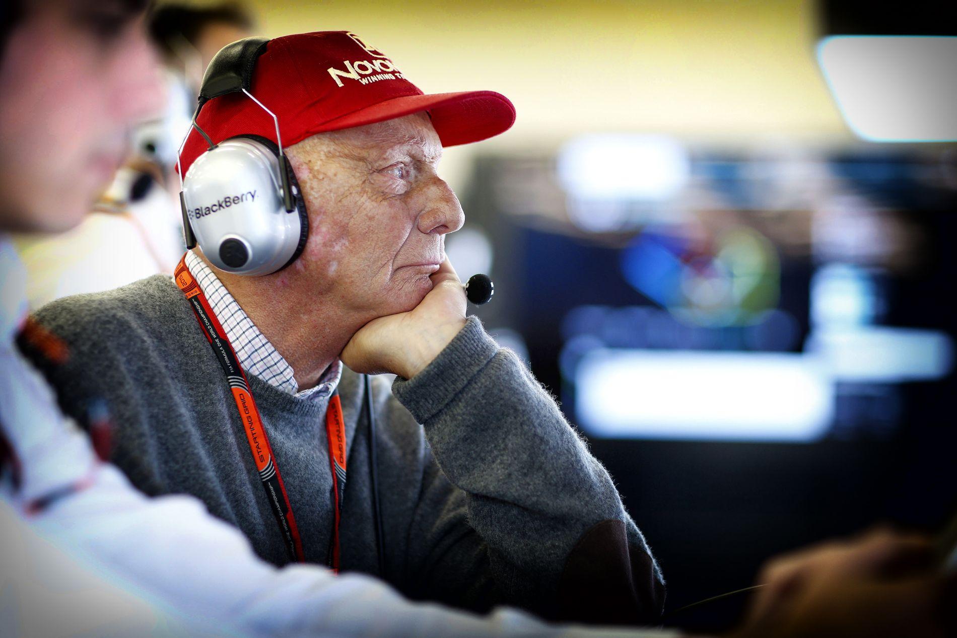 Lauda unja a többiek nyavalygását: a Ferrari  csak spagettivel dobálózik, nem fejleszt