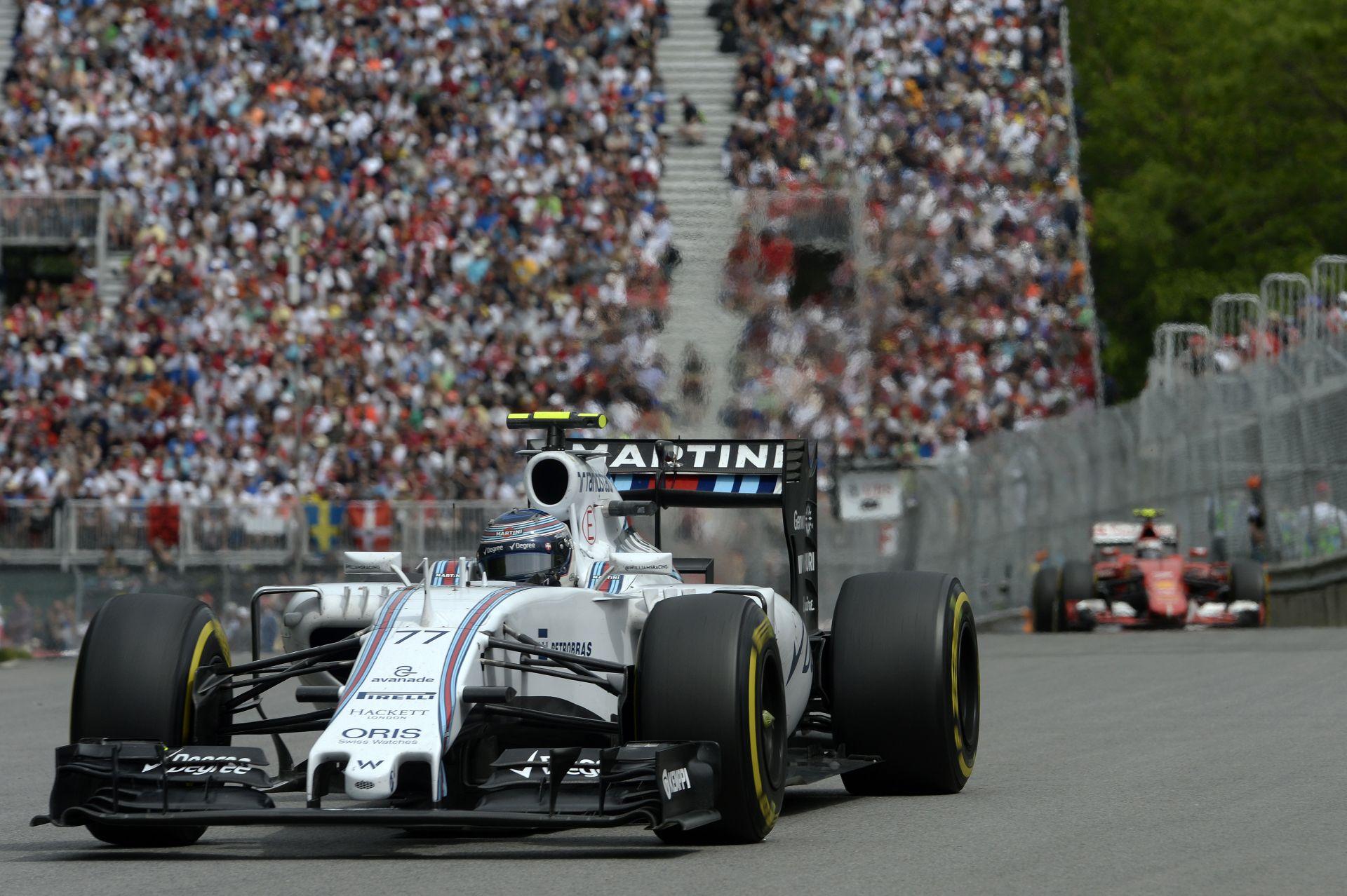 A Williams ledolgozná 60 pontos hátrányát a Ferrarival szemben!