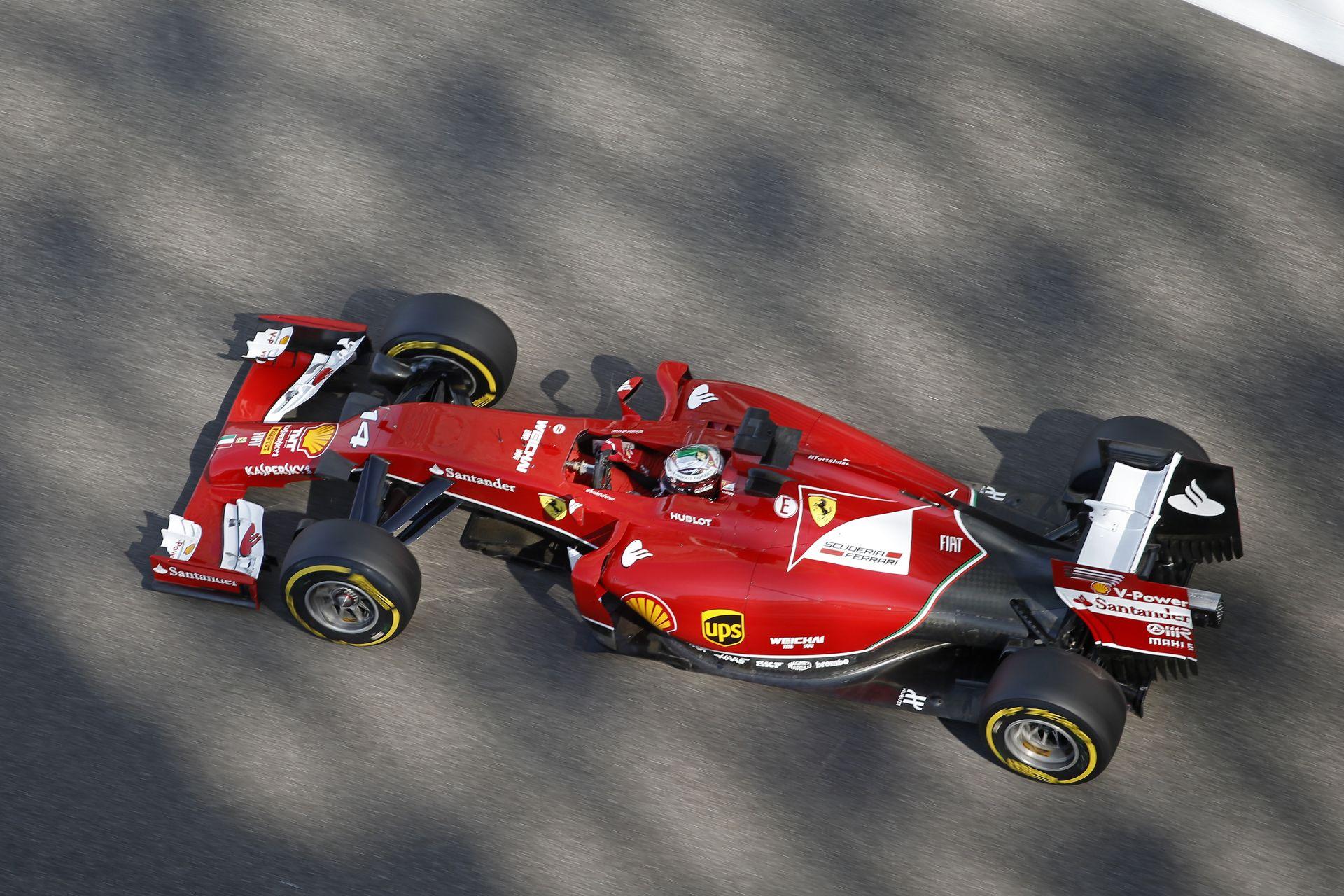 Ő tesztel Vettel helyett a Ferraival Abu Dhabiban