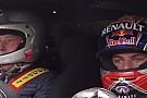 A 17 éves Verstappen ismét elvitte az apját egy körre, ezúttal egy igazi gépállattal Spa-ban!