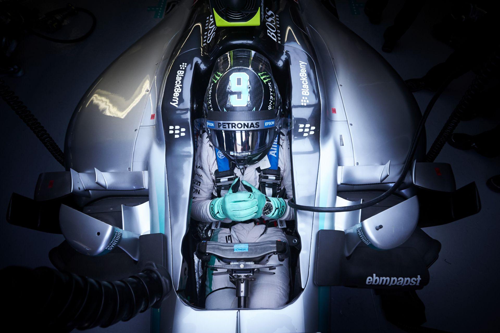 Rosberg: Úgy nyomtam neki, mint egy nem normális! Az időmérőn ment el a győzelmem!