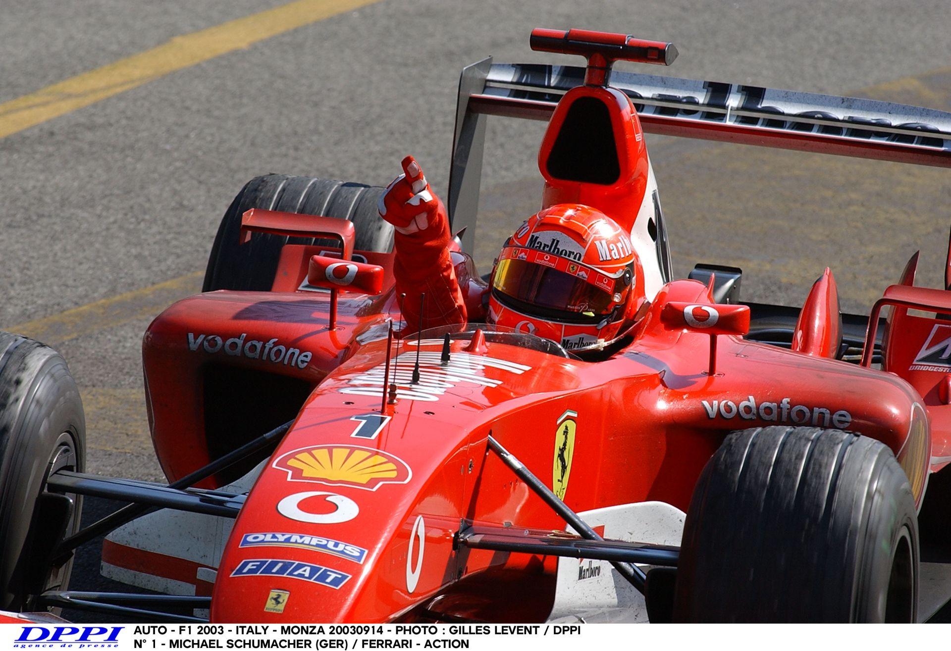 Pályabejárás a hétszeres világbajnok Michael Schumacherrel Monzában
