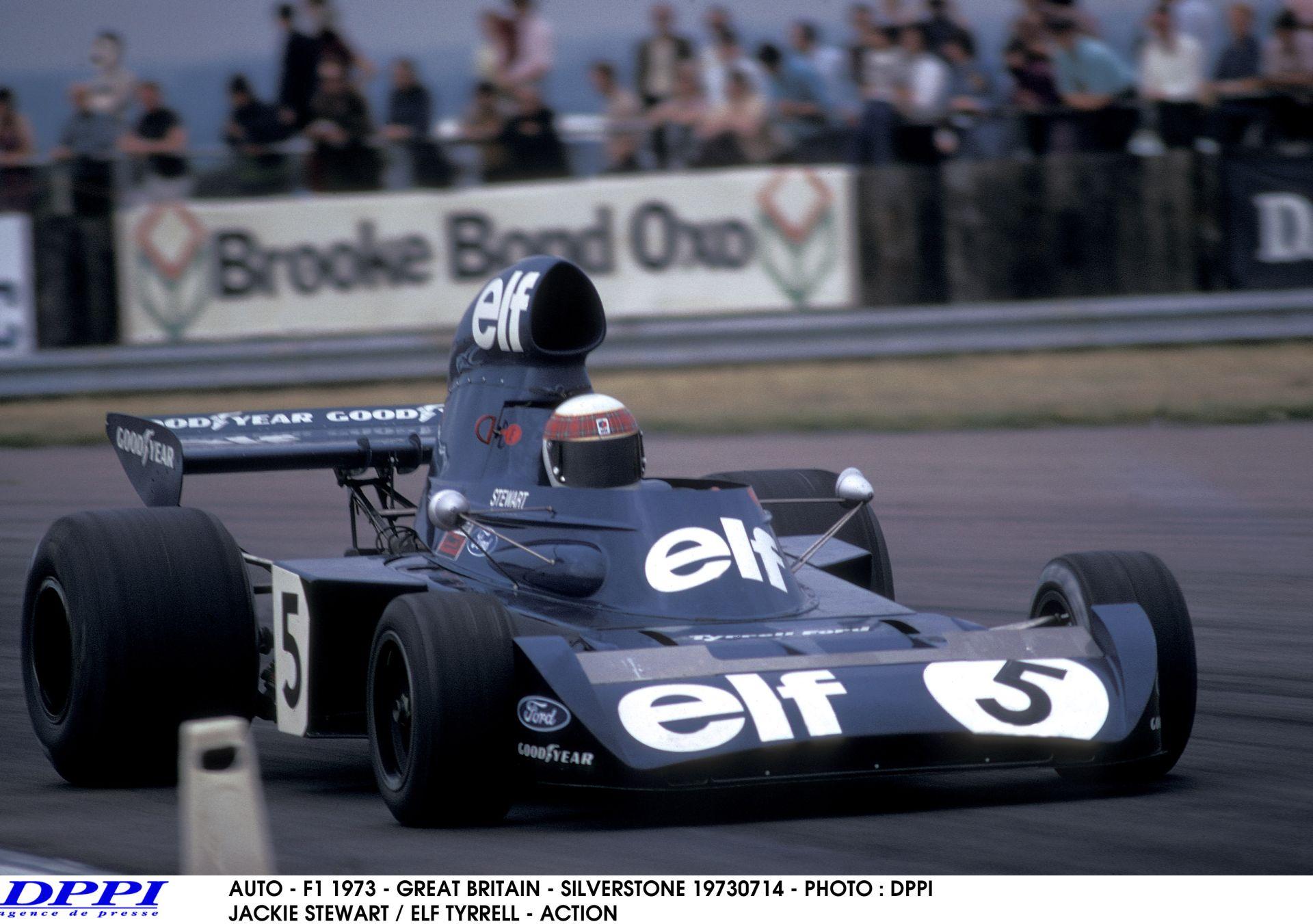 Ma 76 éves Sir Jackie Stewart, a háromszoros F1-es skót bajnok