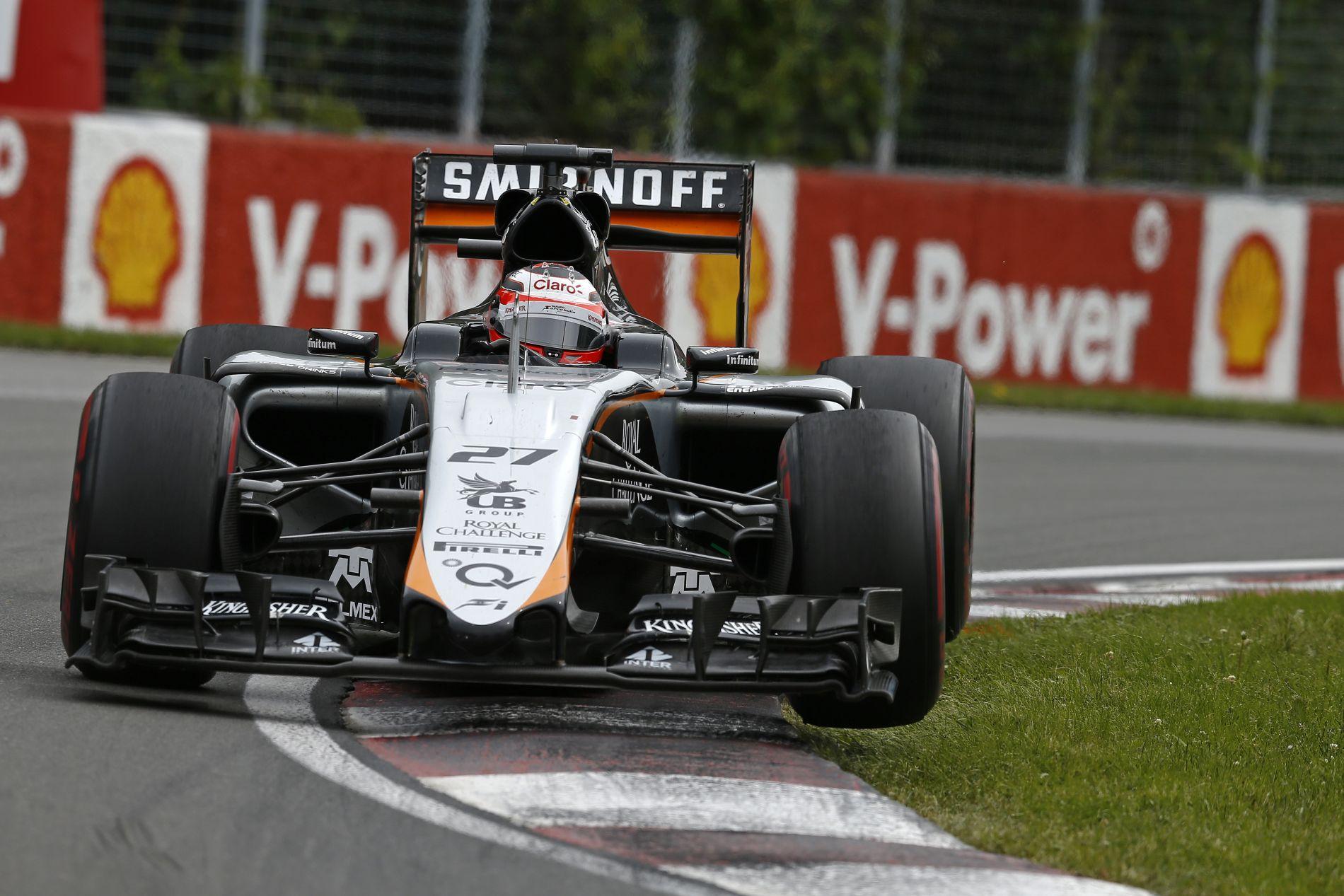 Csak félig készült el a Force India B autója, Silverstone után az 5. helyért küzdhetnek