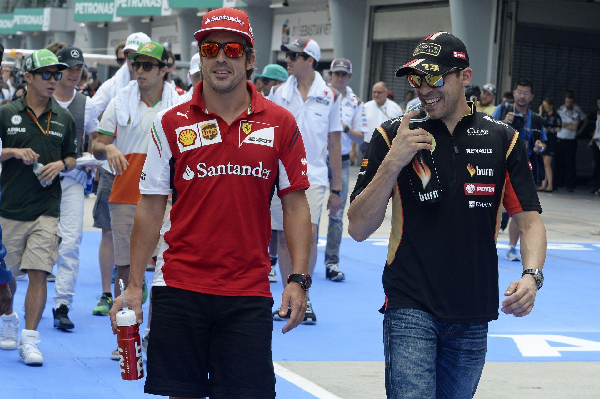 BRÉKING: Alonso a Lotus-Mercedes versenyzője lehet jövőre! Maldonado és Grosjean is repül? 16 éves csapattársat kaphat Fernando