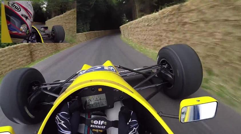 Újabb parádés onboard Goodwoodból: Alex Lynn és a Williams FW13B