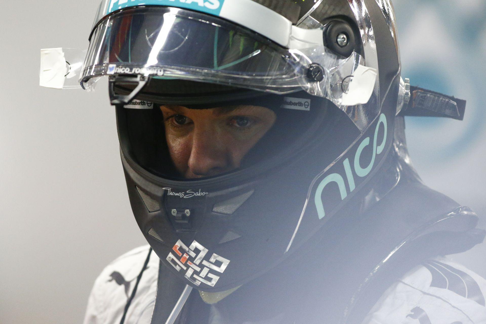 Rosbergnek még mindig nagyon fáj Hamilton szingapúri győzelme