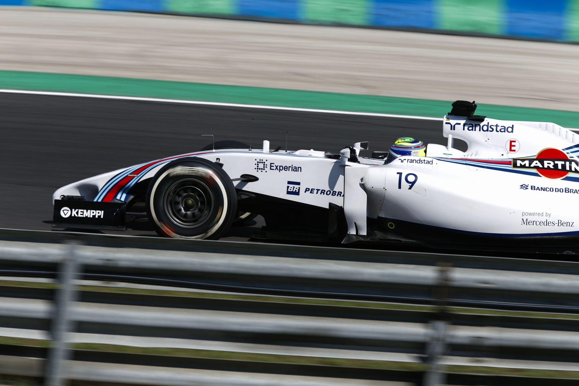 Massa egy nagyon jó második félévre számít a Williamsszel
