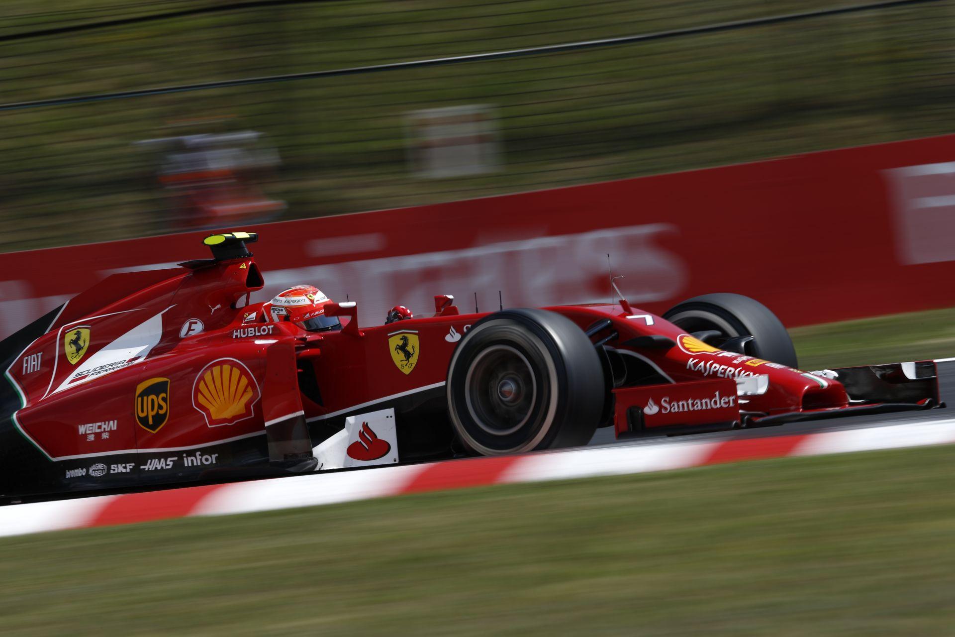 Raikkönen: A Ferrari idei autója nem egy katasztrófa!
