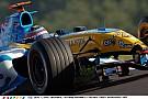 Alonso a világbajnok Renault volánja mögött Spa-ban: Üvölt a V10