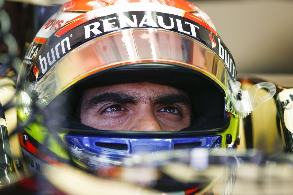 Maldonado jobban érzi magát a Lotusnál, csak a csomag nem működik