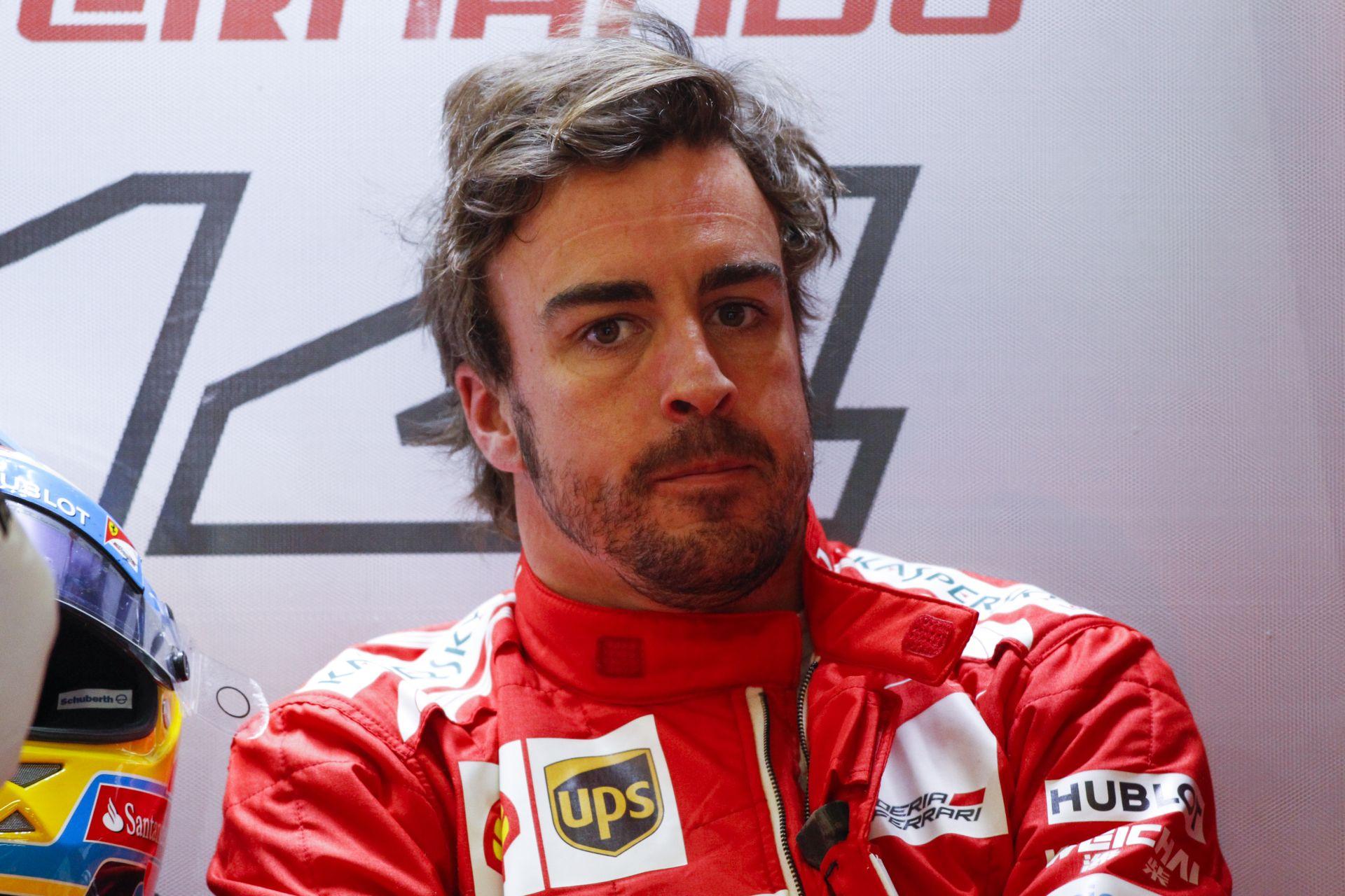 Alonso szerint ma könnyen dobogóra állhattak volna a Ferrarival, és szerinte Magnussen nem volt feltétlen fair ellen