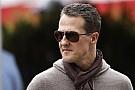 Michael Schumacher ismét megtett egy kis lépést a rehabilitációban