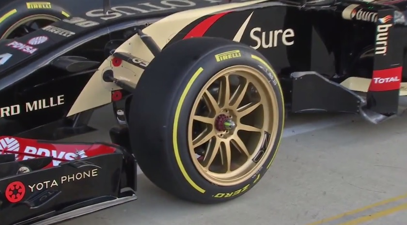 Testközelből a Pirelli 18 colos F1-es kerekei: Pimp My Ride