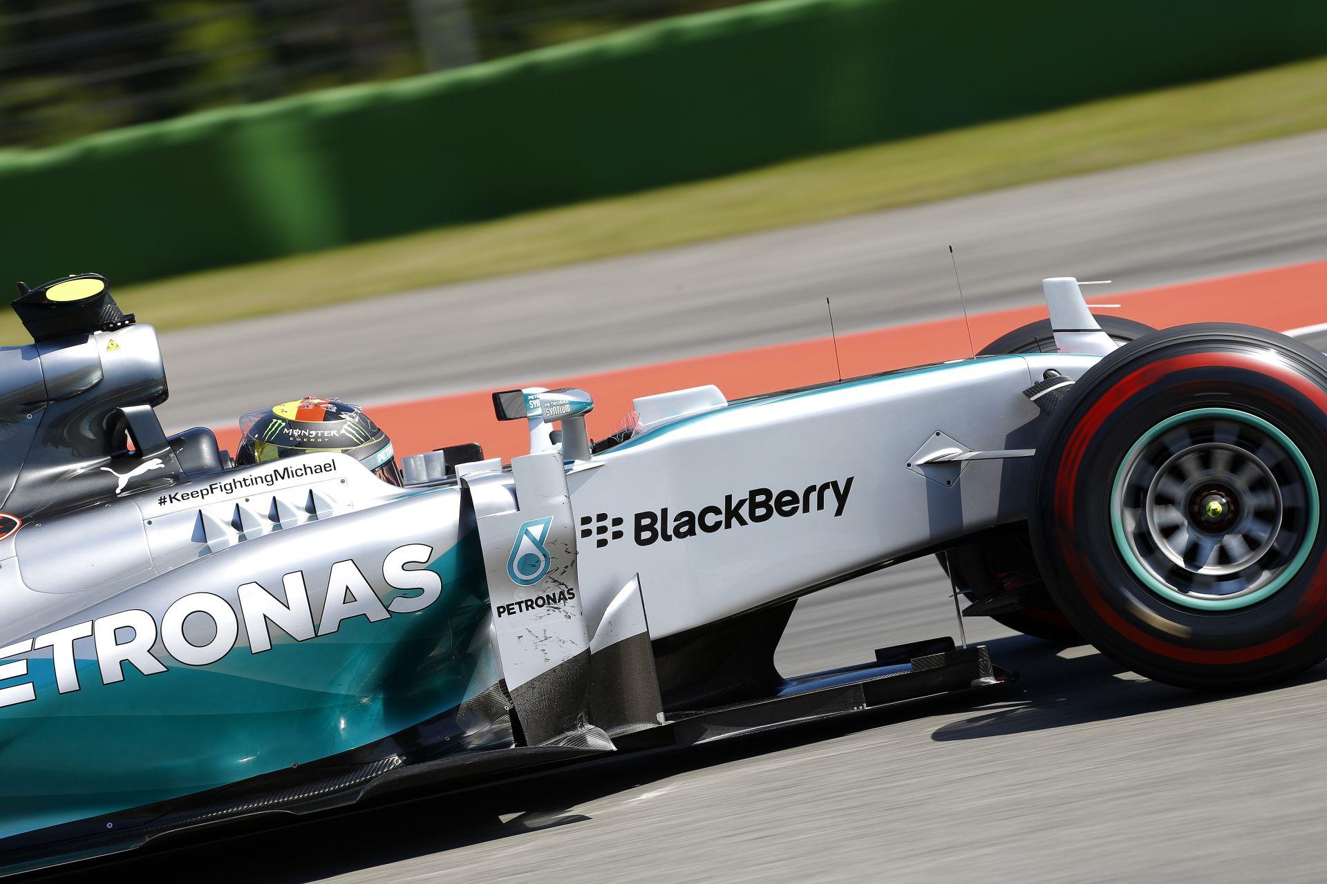 Rosberg volt a leggyorsabb az időmérő és Hamilton, valamint Alonso előtt! Raikkönen alatt megint elszállt a Ferrari