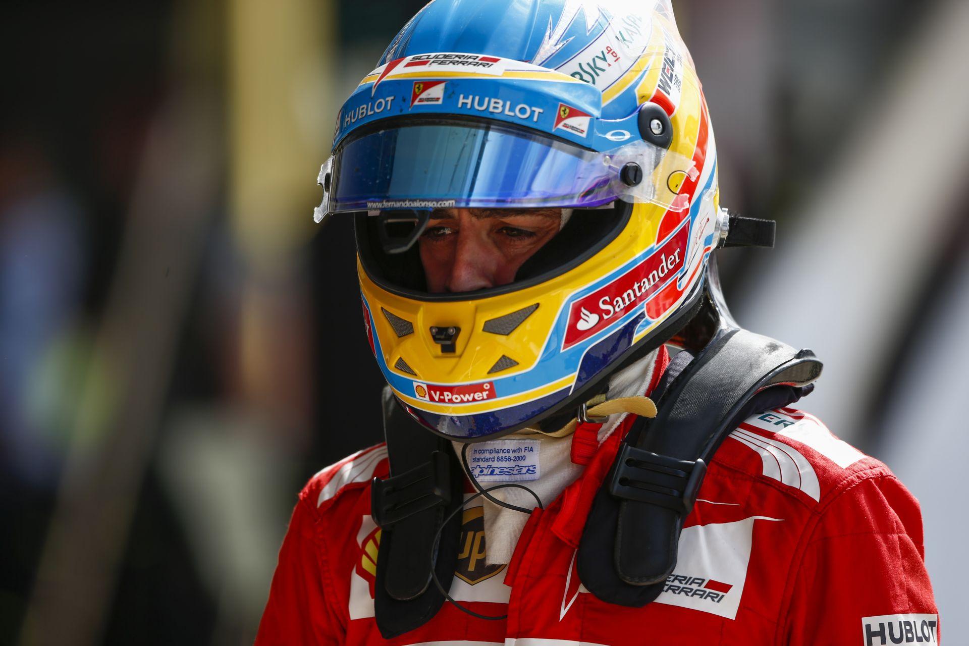 Alonso: Már csak a 2015-ös Ferrarira koncentrálunk!