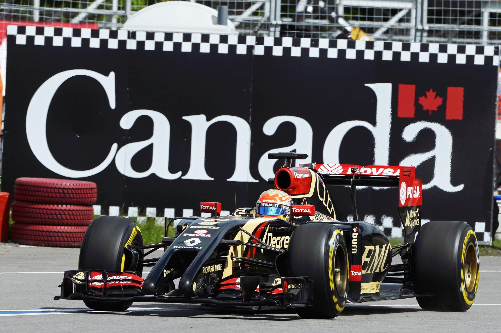 Lotus: Lassan, de biztosan előre Kanadában!