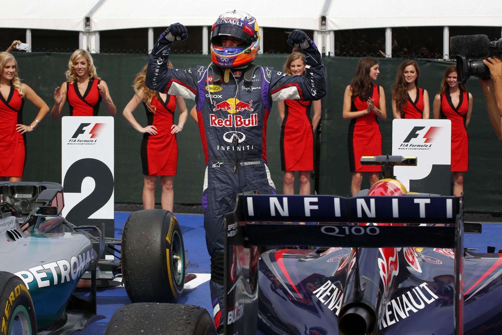 A Renault nagyon boldog Ricciardo kanadai győzelme miatt