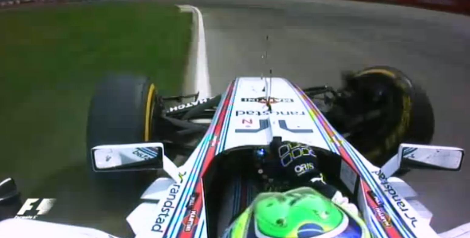 Exkluzív F1-es onboard felvételek a Kanadai Nagydíjról: Elképesztően brutálisat kapott Massa