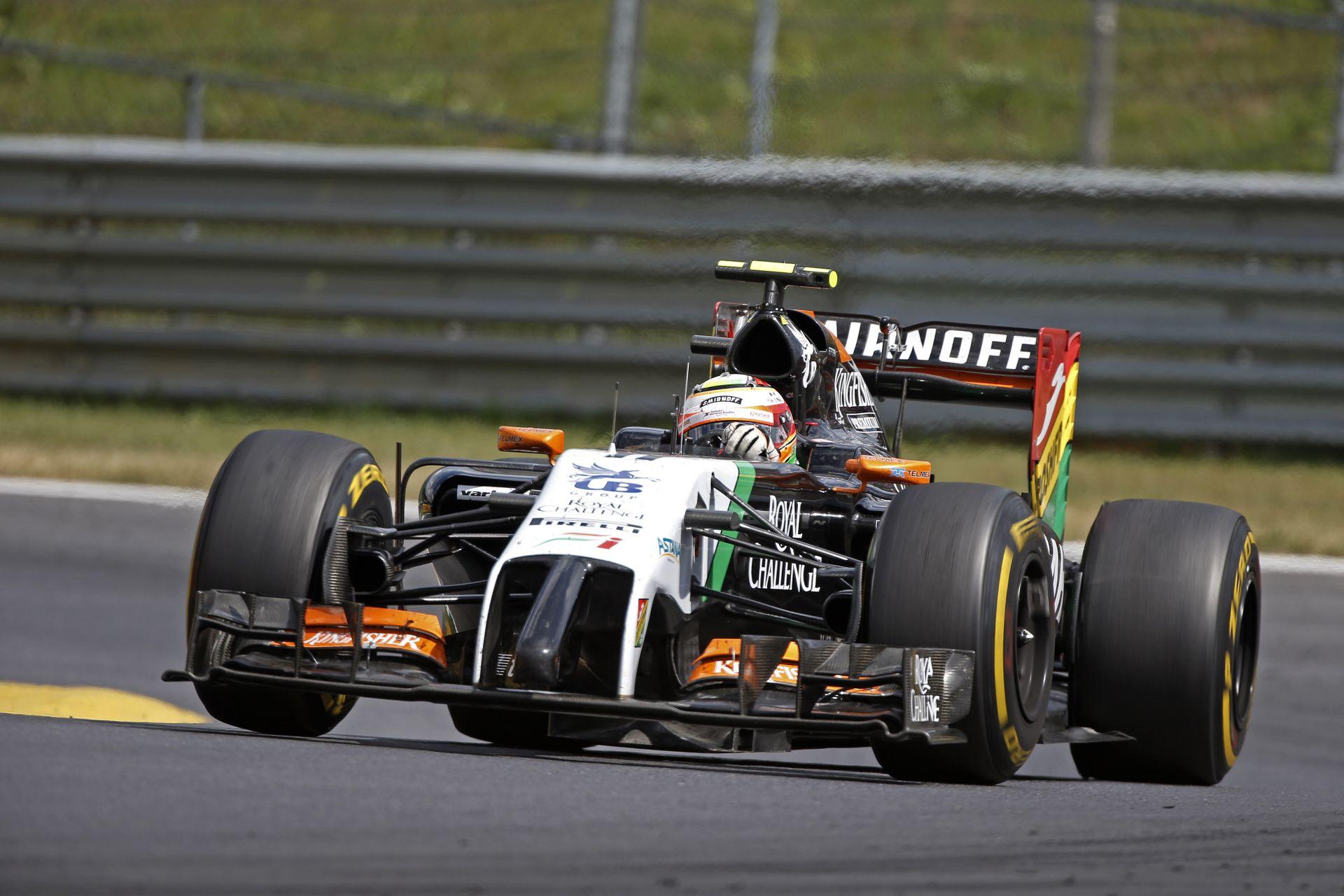 Osztrák Nagydíj 2014: Pérez volt a leggyorsabb a versenyen Hamilton és Bottas előtt
