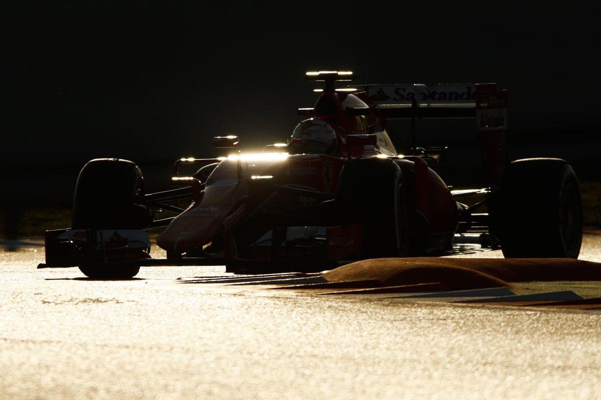 Vettel elégedett a téli tesztekkel: a Mercedes után a Ferrari következik a rangsorban