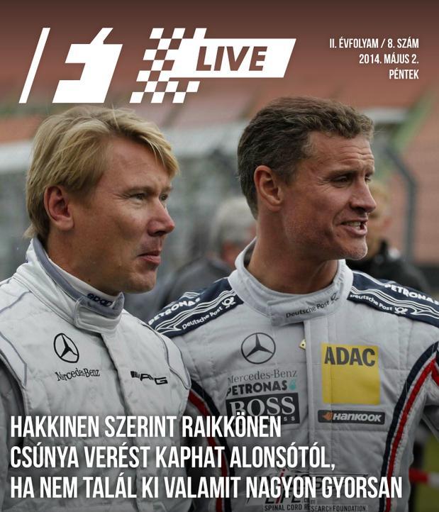Táblamagazin: Raikkönen bajban, Alonso egyelőre túl gyors