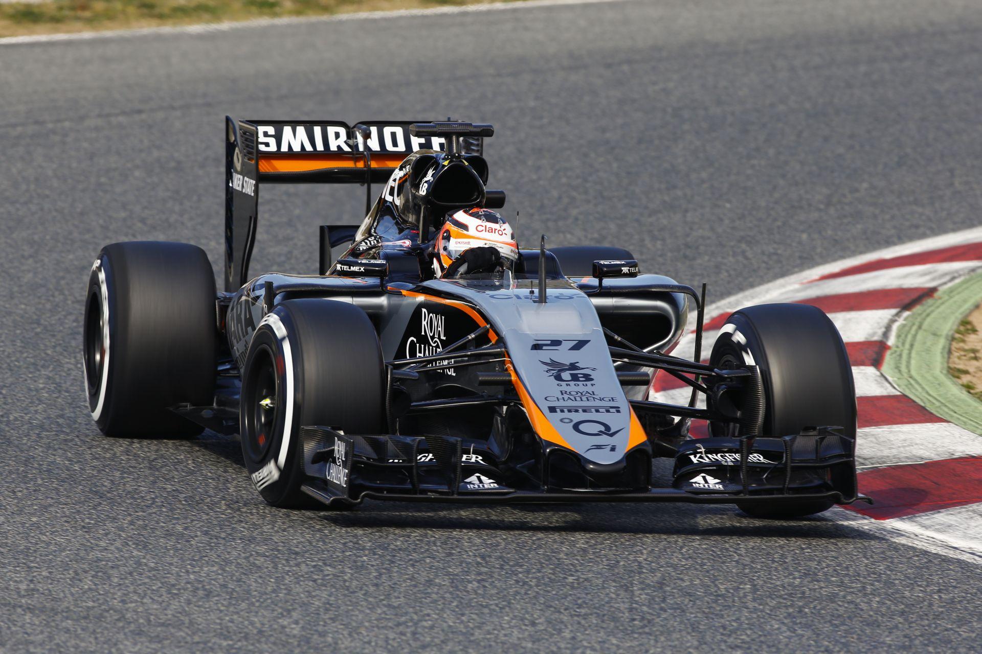 """Nico Hülkenberg: """"A Mercedes motor biztos, hogy nem hátrány!"""""""