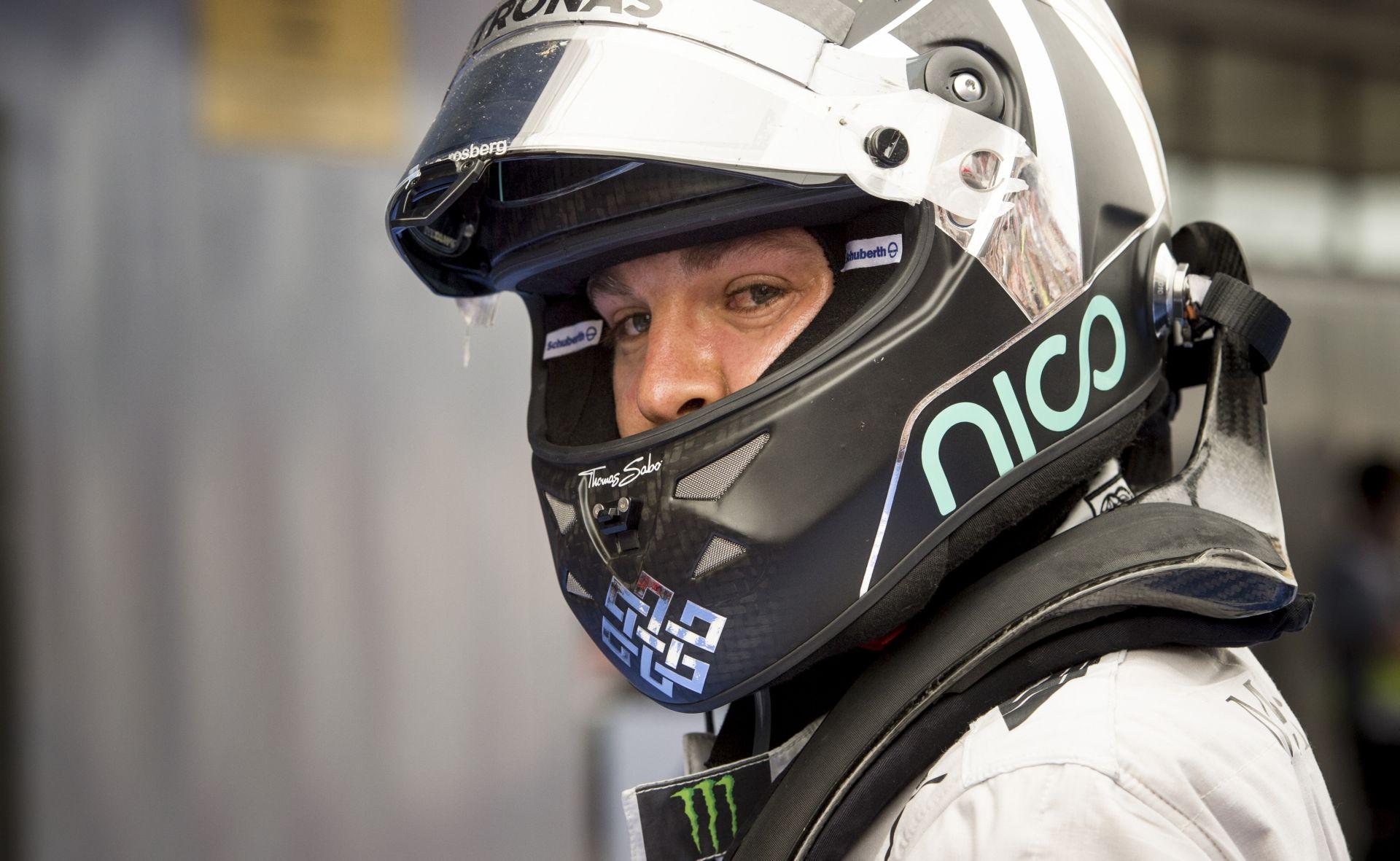 """Rosberg: Sajnos ez a """"trombita"""" semmin sem változtatott! A hang ugyanolyan!"""
