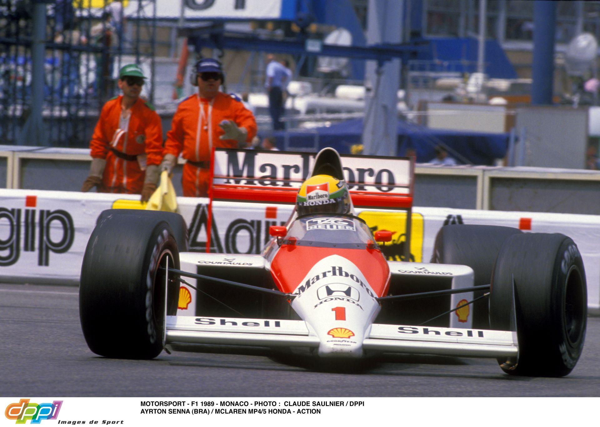 Így kell vezetni Monacóban: Ayrton Senna megmutatja