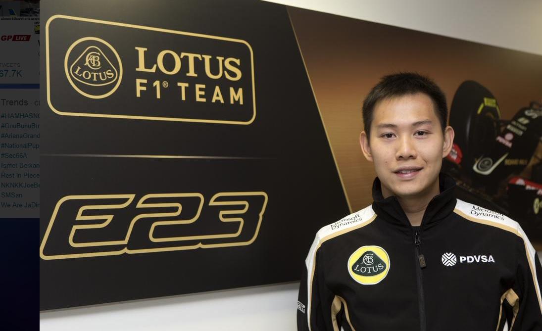 Kínai versenyzőt szerződtetett a Lotus F1 Team: Micsoda hír?!