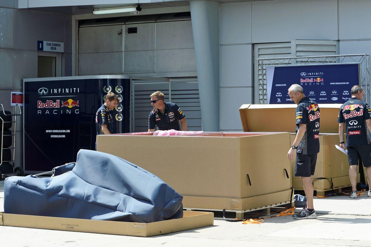 A Red Bull rövid orra tönkretette a tesztekhez használt kasztnit