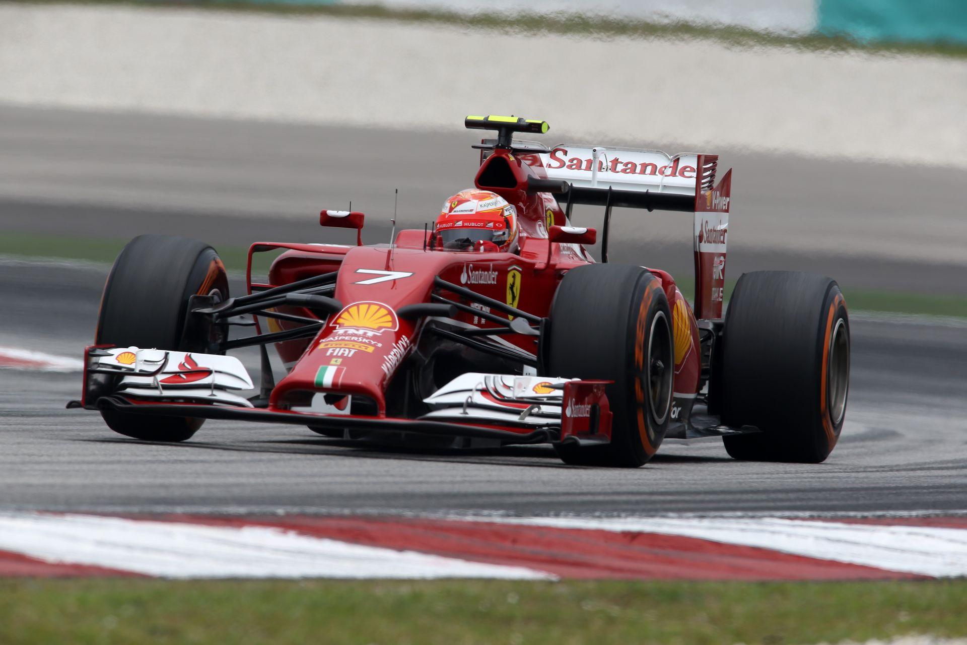 Raikkönen: Jó lenne egy versenyképesebb Ferrari Bahreinben
